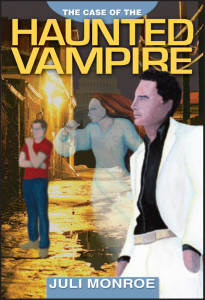 Cover of The Case of the Haunted Vampire