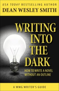 Writing Into the Dark cover